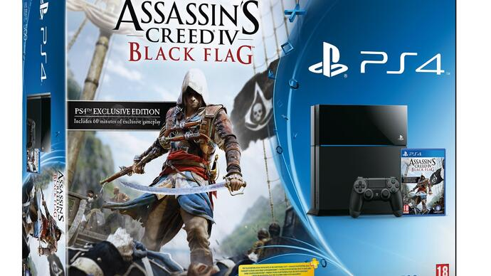 Assassin's Creed 4 PS4 bundle announced