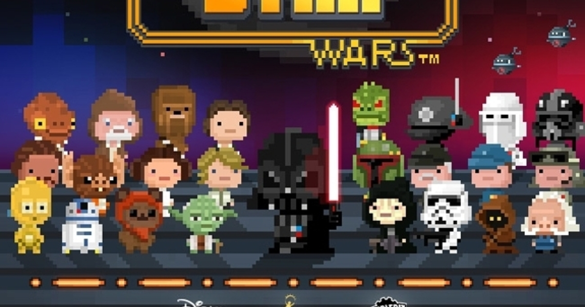 Disney has released its first Star Wars game and it's adorable
