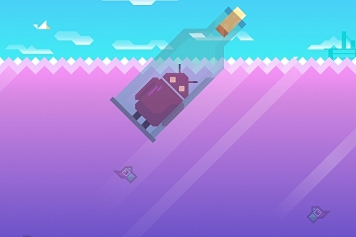 Android version of Ridiculous Fishing out soon