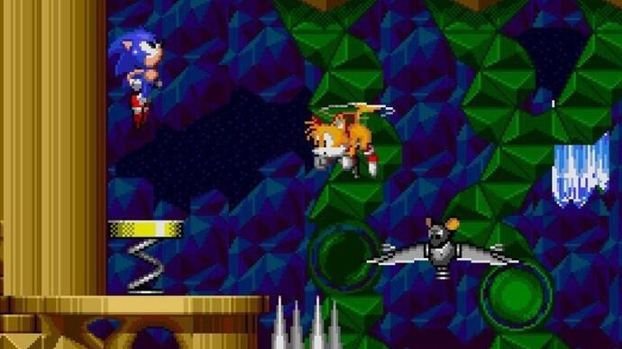 Long-lost level restored in Sonic the Hedgehog 2 remaster