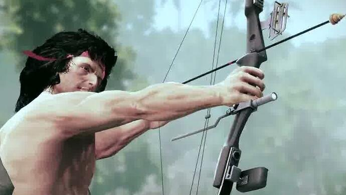 Rambo The Video Game's new trailer looks slightly lessterrible