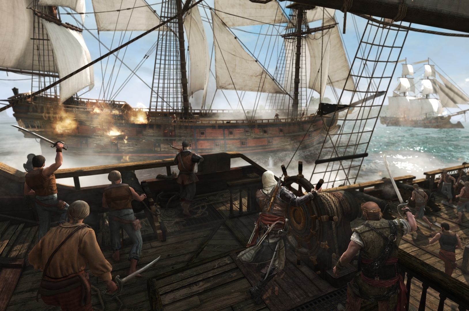 Assassins Creed 4 Black Flag Legendary Ship Tactics Eurogamernet