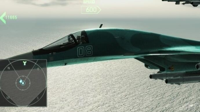 Ace Combat: Assault Horizon update lets you ditch Games for WindowsLive