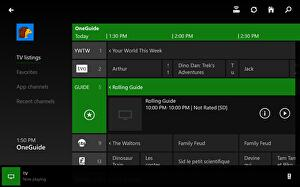 OneGuide rolling out to select Xbox One users in the UK
