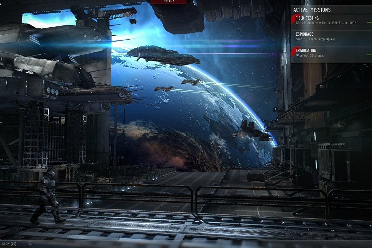 CCP re-imagines PS3 shooter Dust 514 for PC as Project
