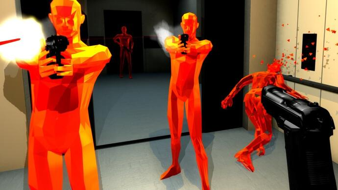 Time-stopping action puzzler Superhot launchesKickstarter