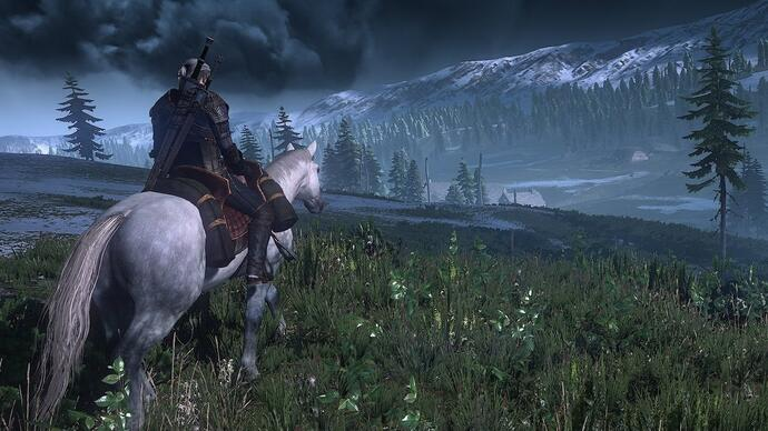 Brand new Witcher 3: Wild Hunt gameplay footage