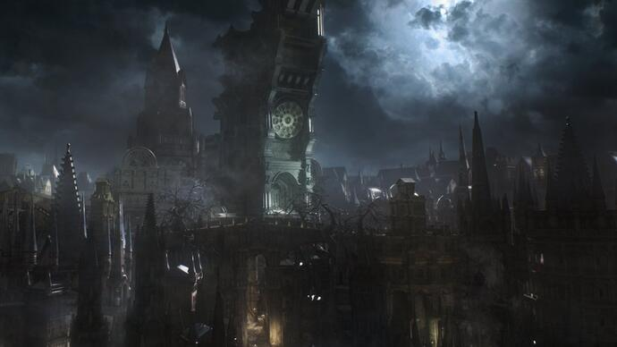 Bloodborne gameplay footage from E3