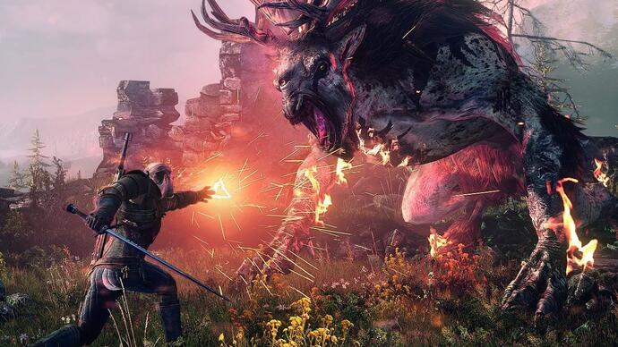 Witcher 3 E3 gameplay demo combat was deliberately easy, CD Projekt says