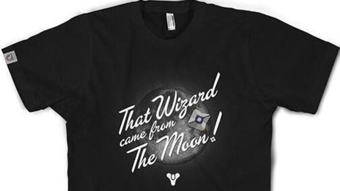 """That wizard came from the moon!"" Destiny T-shirt soars to sales success"