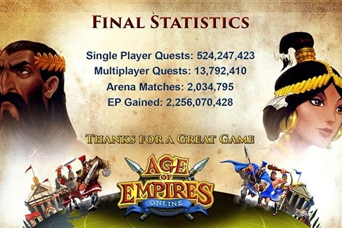 Age of Empires Online waves goodbye after servers shut down