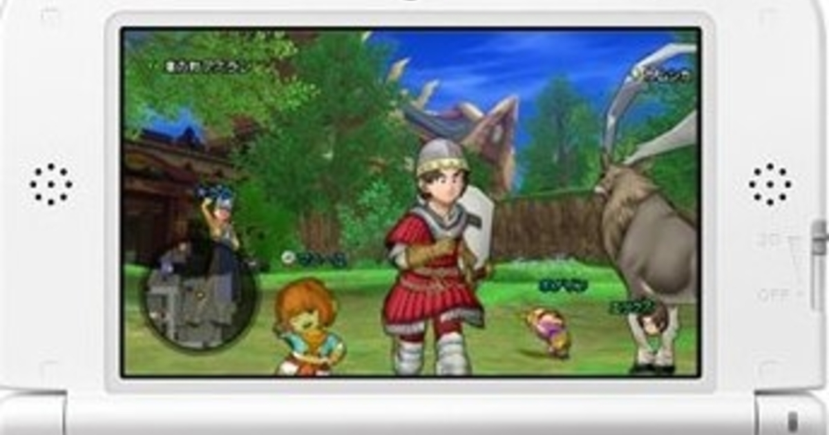 Dragon Quest 10 announced for 3DS in Japan