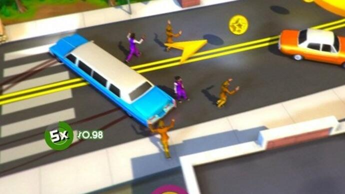 Spinning limousine arcade adventure Roundabout release date set forSeptember
