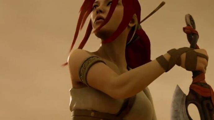 Heavenly Sword movie has a release date