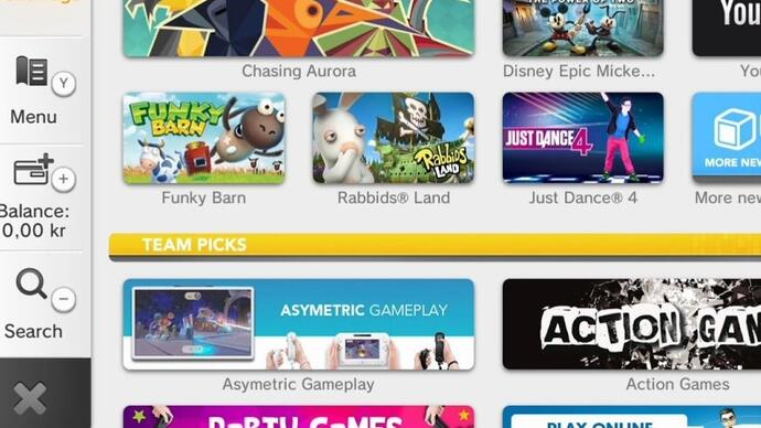 Wii U system update lets you transfer data betweenconsoles