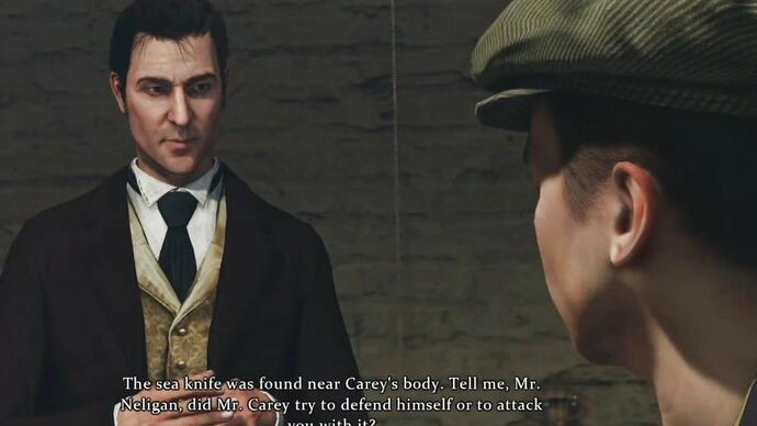Sherlock Holmes: Crimes & Punishment PS4 gameplay video
