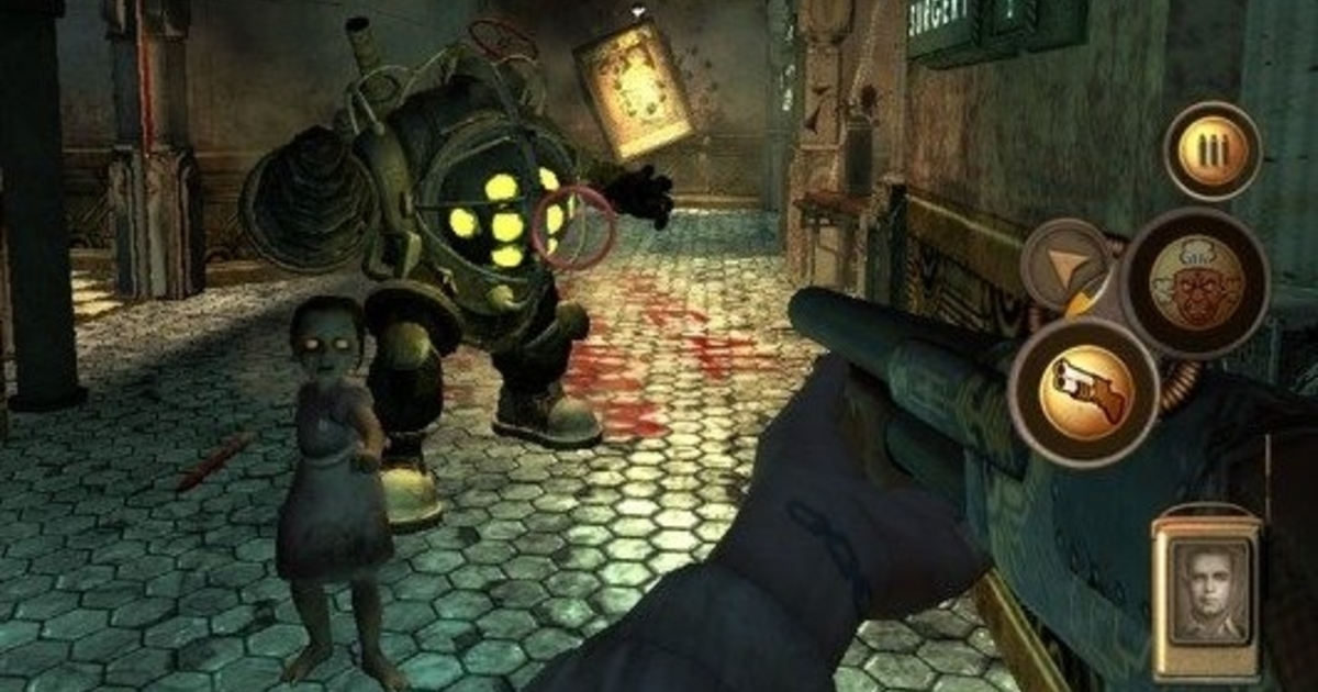 BioShock 1 announced for iPhone and iPad • Eurogamer.net