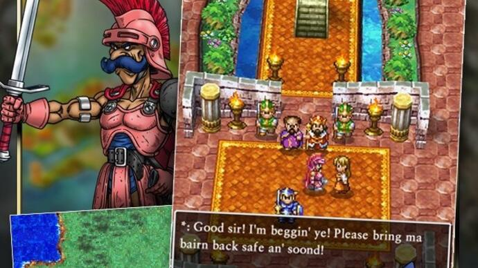 Dragon Quest 4 launches on mobile