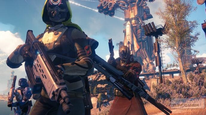 Destiny's beta characters are being wiped