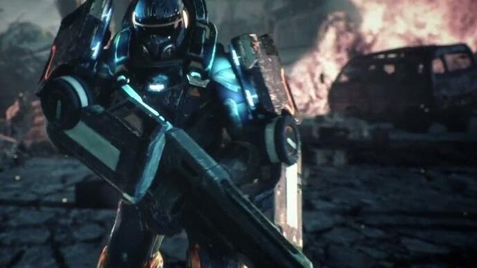 This is Alienation, the next PS4 exclusive from the people behindResogun
