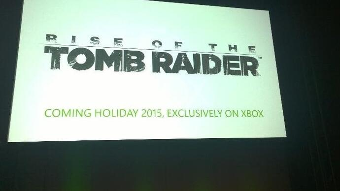 "Microsoft confirms Rise of the Tomb Raider Xbox exclusivity deal ""has a duration"""