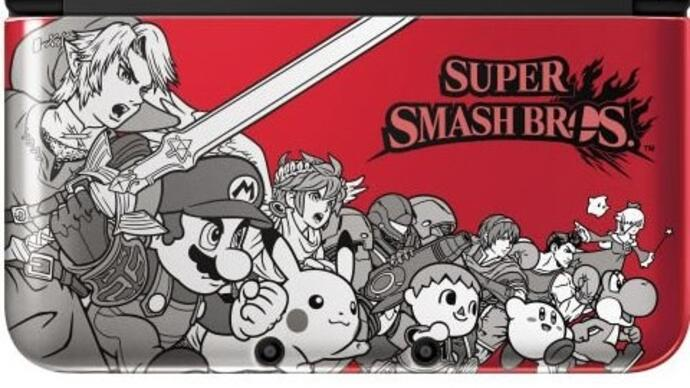 Nintendo confirms limited edition 3DS XL for Super Smash Bros.launch