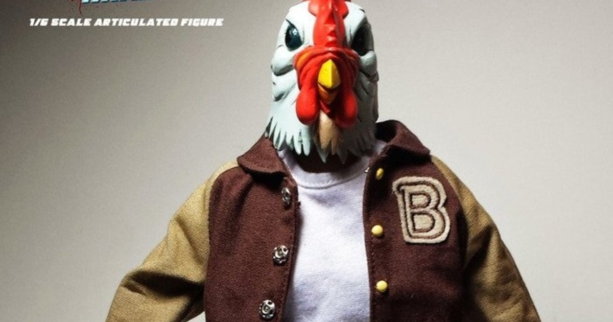 Hotline Miami action figures are selling like gangbusters on Kickstarter