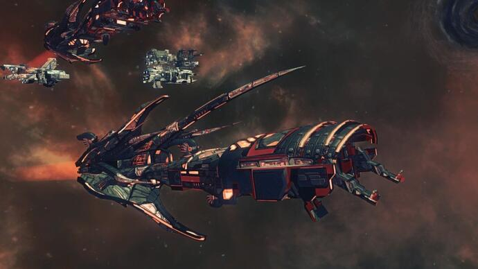 Paradox unveils single-player space RTS Ancient Space