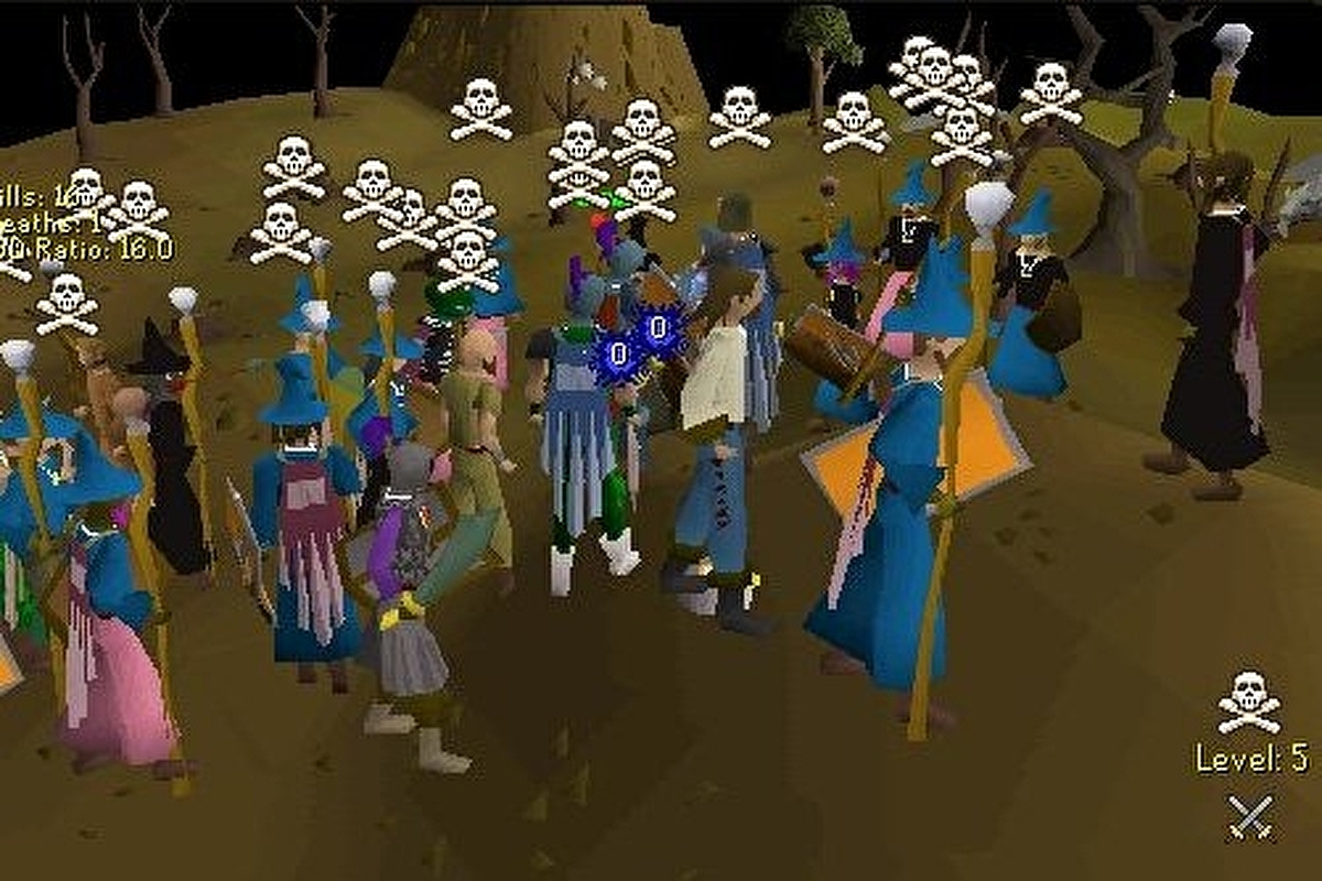 Runescape frees up dormant accounts and old character names