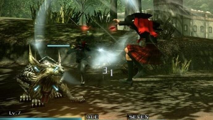 New Final Fantasy Type-0 HD gameplay