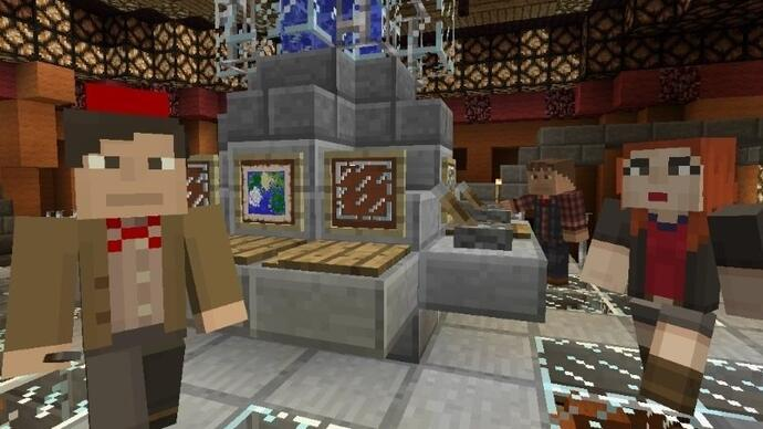 Doctor Who Minecraft pack launches today for Xbox 360