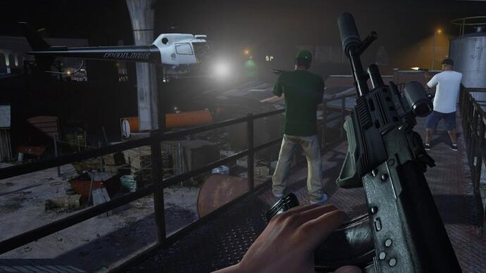 Grand Theft Auto 5 first-person mode confirmed for PC, PS4, XboxOne