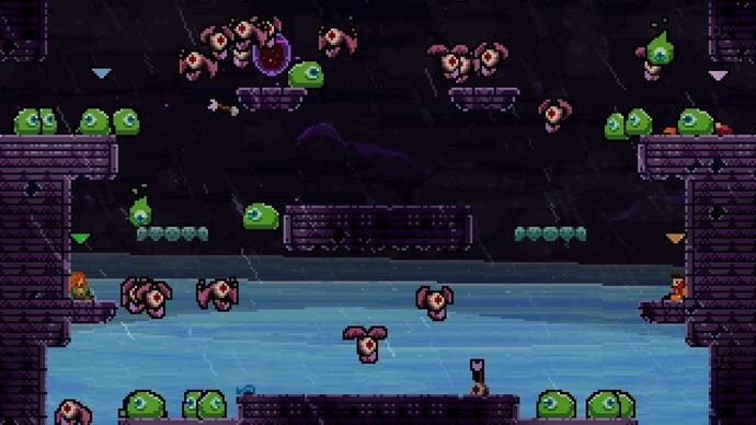 "TowerFall Ascension reveals Dark World expansion due in ""early 2015"""