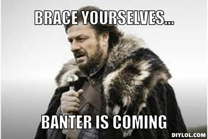 banteriscoming