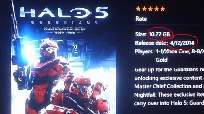 Halo 5: Guardians beta will weigh in at 10.27GB - report