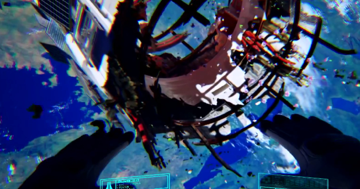 First-person space survival sim Adr1ft debuts gameplay footage