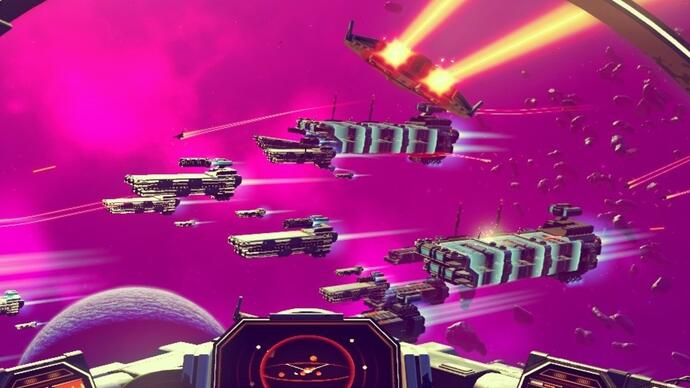 Here's over four minutes of No Man's Sky gameplay