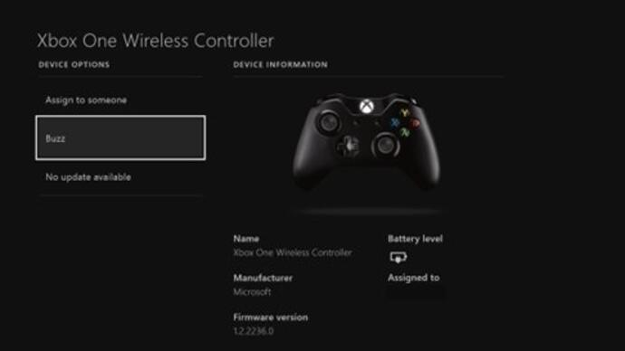 Xbox One controller update halves connection time