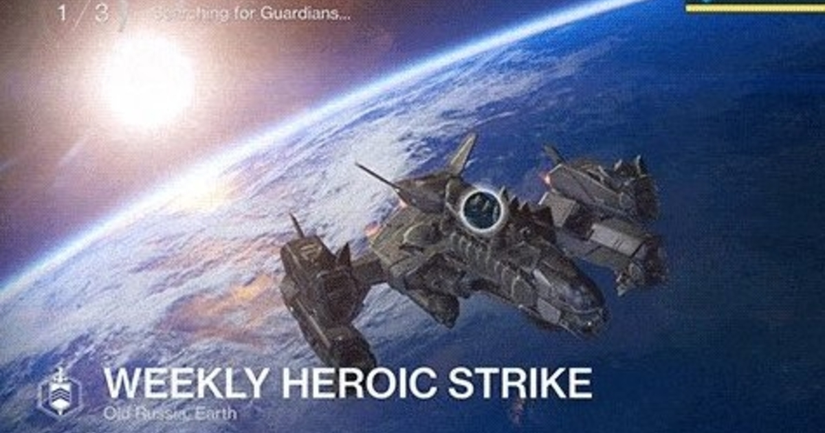 Destiny 2 s Heroic Zero Hour Quest Is Nearly Impossible For Solo Players