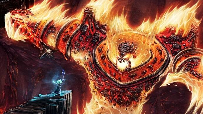 Hearthstone pre-release patch hints at Molten Coreexpansion