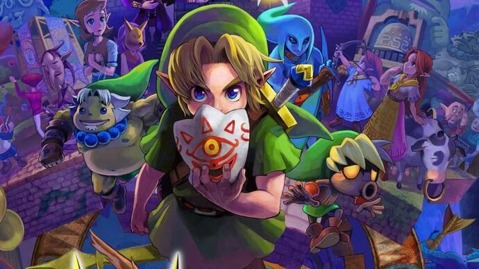 Majora's Mask 3D bests Evolve in February US retail sales