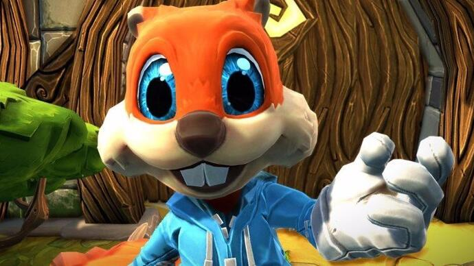 Conker's Big Reunion gets an April release date in Project Spark