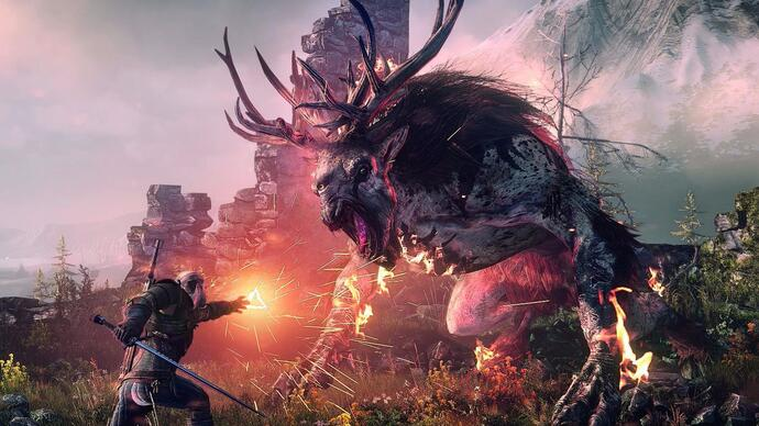 Trailer di The Witcher 3: Wild Hunt su PS4