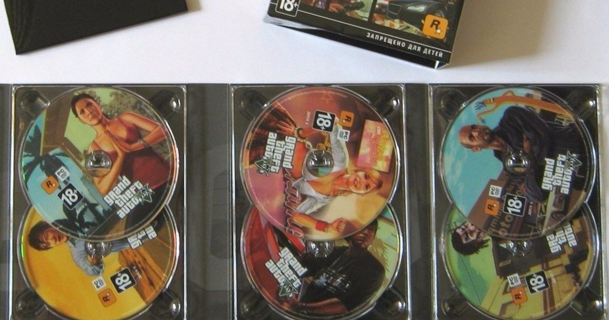 gta v pc 7 dvd
