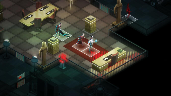Invisible, Inc spies May release date
