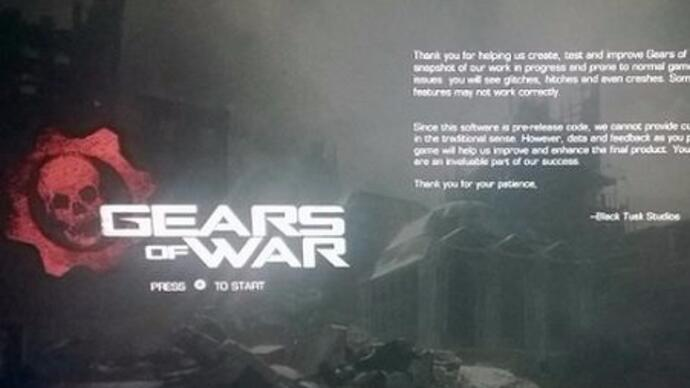 Gears of War remaster set for Xbox One - report
