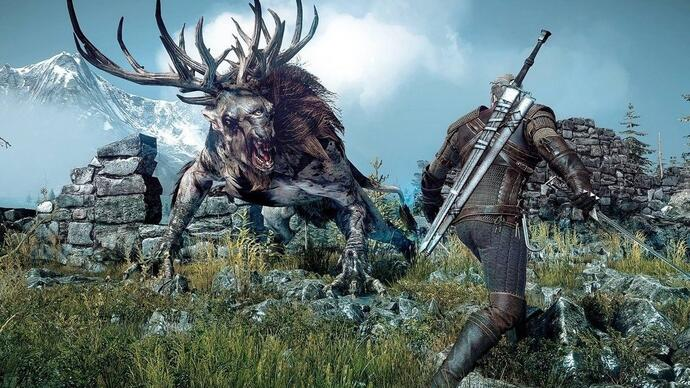 La versione Xbox One di The Witcher 3: Wild Hunt si mostra in un nuovo video gameplay