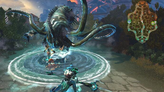Smite Xbox One closed beta launches, and we're giving awaykeys