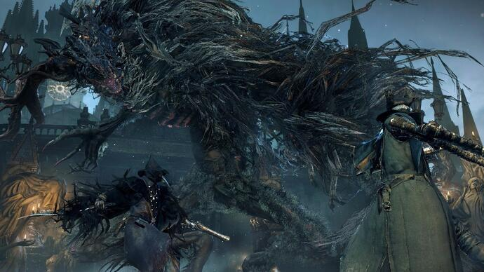 Bloodborne patch 1.04 adds co-op with anyone, regardless of level