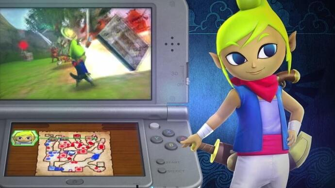 Hyrule Warriors headed to 3DS, first trailerleaked